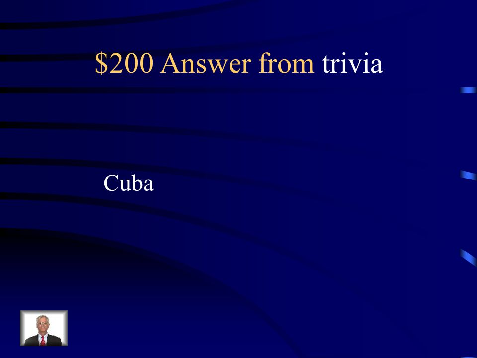 $200 Question from trivia From what country is her family