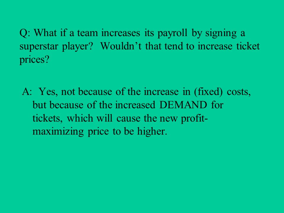 Salary and grievance arbitration 1970: Second Basic Agreement –$15,000 minimum salary –20% maximum pay cut –grievance arbitration by an outside, impartial arbitrator, not the Commissioner 1973: salary arbitration enacted by owners –purpose: to placate players, forestall free agency – final-offer arbitration –tactical blunder: drove up salaries, didn't stop free agency.