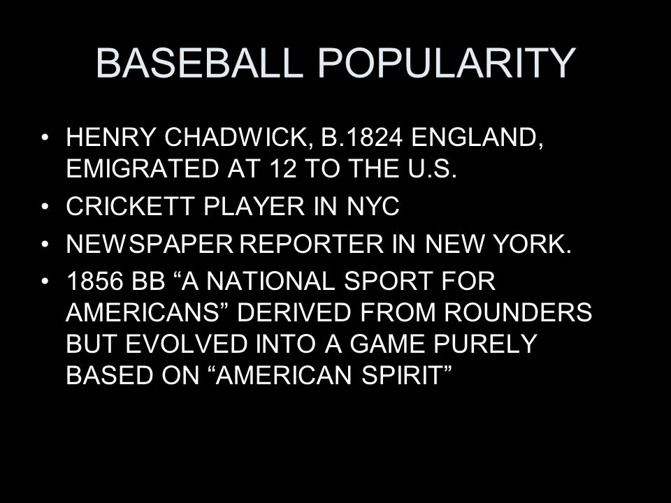 BASEBALL POPULARITIY CHADWICK WRITINGS, BASEBALL: 1868 BOOK THE GAME OF BASEBALL: HOW TO LEARN IT, HOW TO PLAY IT, HOW TO TEACH IT (RULES, STRATEGY, FUNDAMENTALS) A MORAL RECREATION REMEDY FOR MANY EVILS BOYS AND MEN FACE IN U.S.