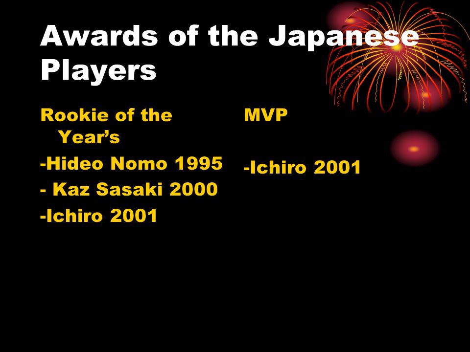 The Transfers Nomo IguchiMatsui Ichiro