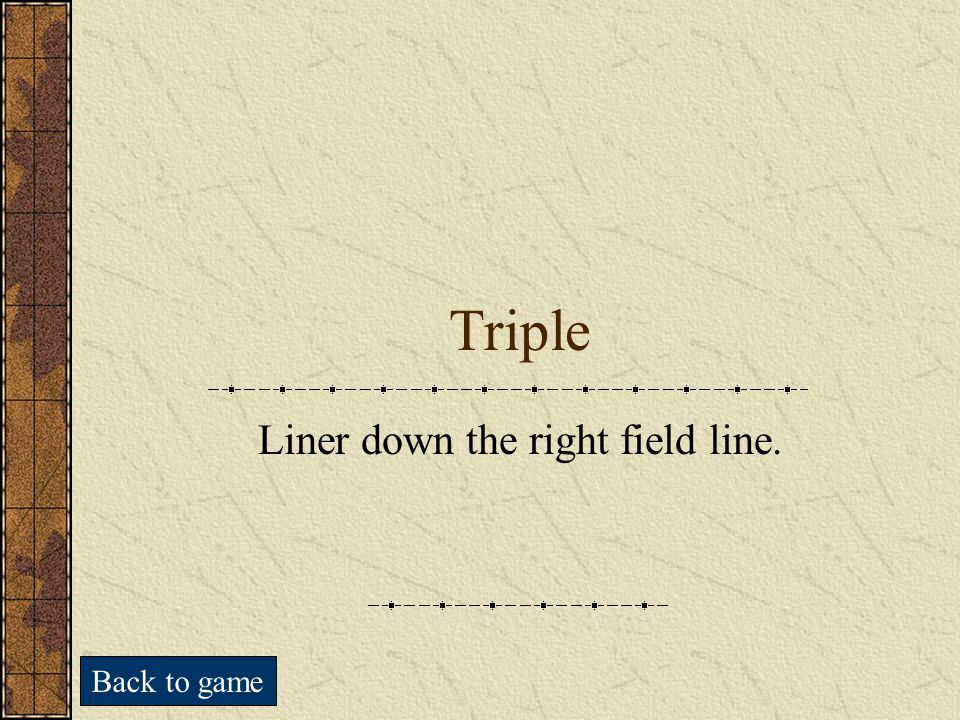 Trivia Cards (Triple)