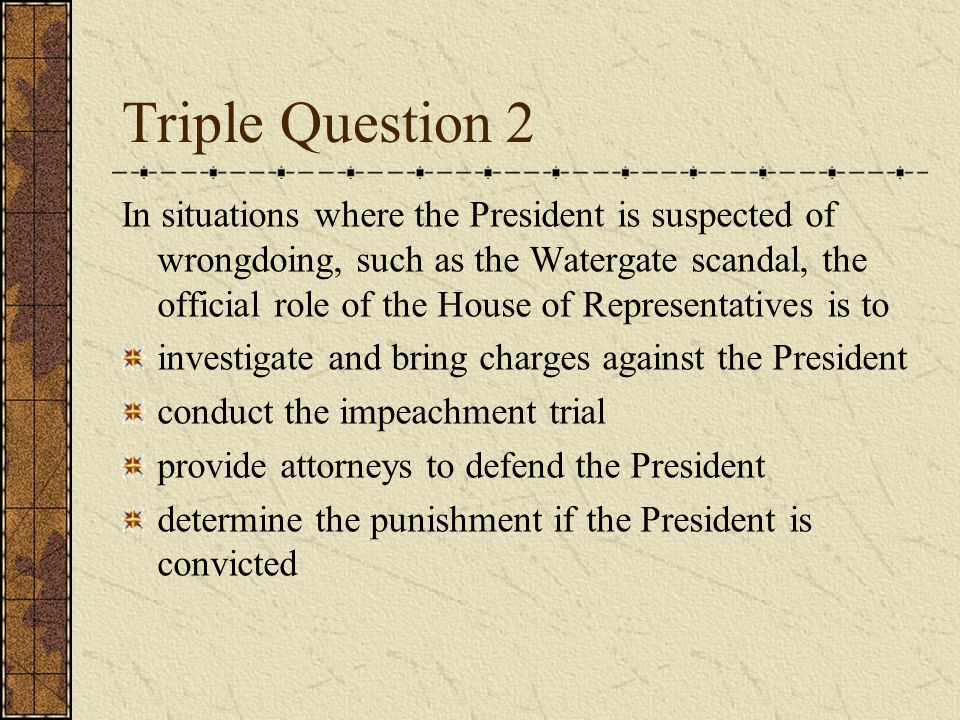 Triple Question 1 In stating the principle of a clear and present danger in Schenck v.