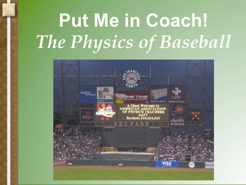 Physics of a Baseball Bat The vibrational nodes (VN) If you wrap a paper megaphone around the top of the bat you can hear the vibrations.