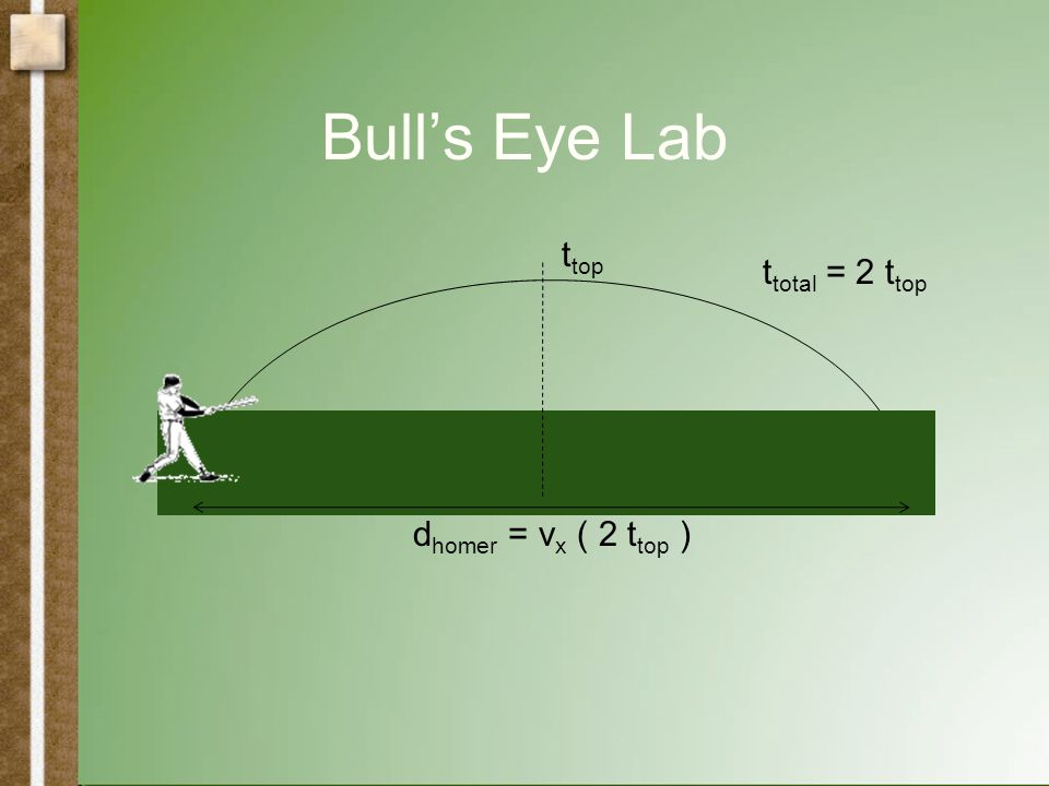 Bull's Eye Lab t top t total = 2 t top