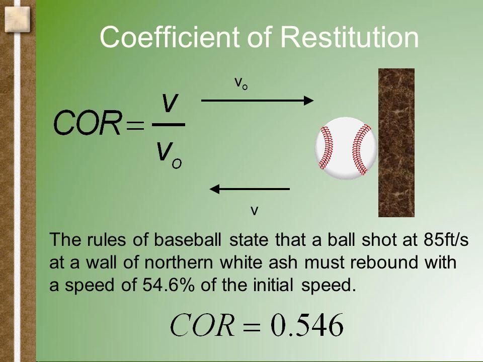 Physics of a Baseball Bat Drop a sad ball on the table.