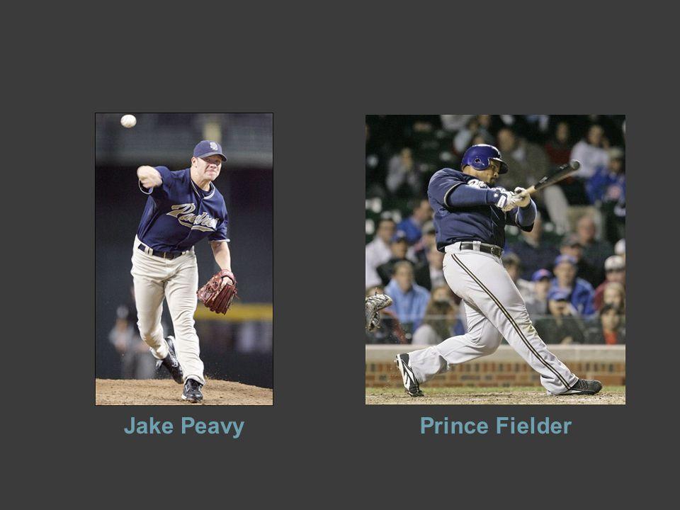 Jake PeavyPrince Fielder