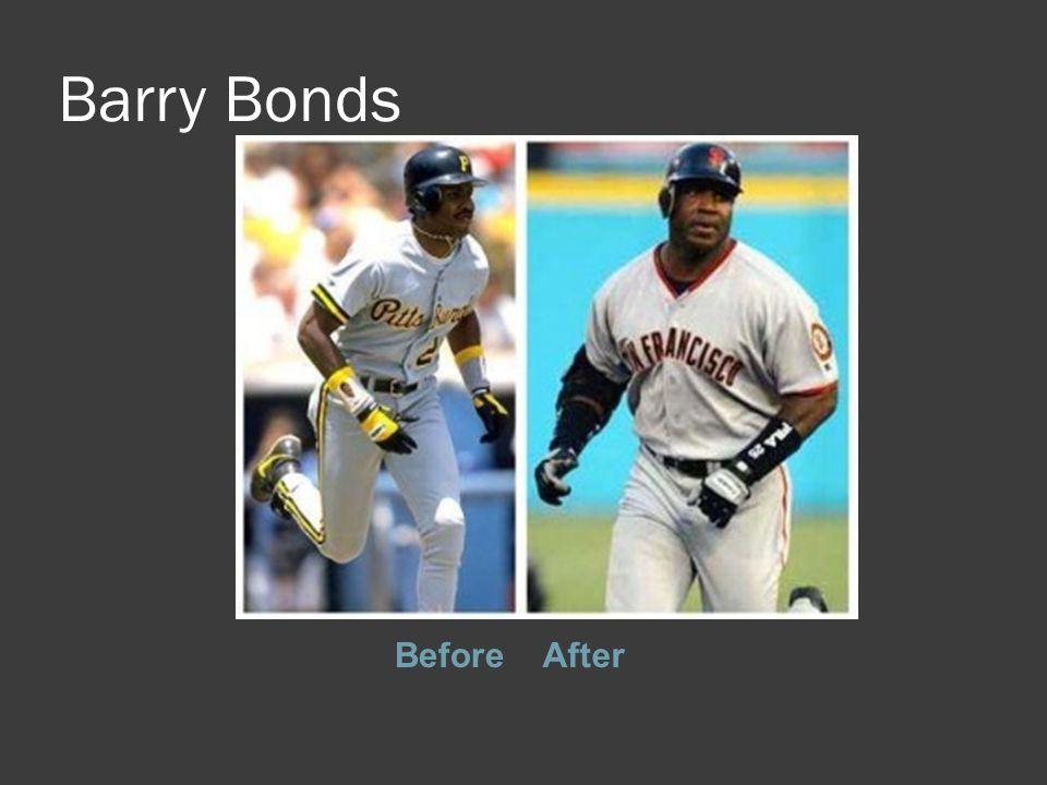 Barry Bonds BeforeAfter