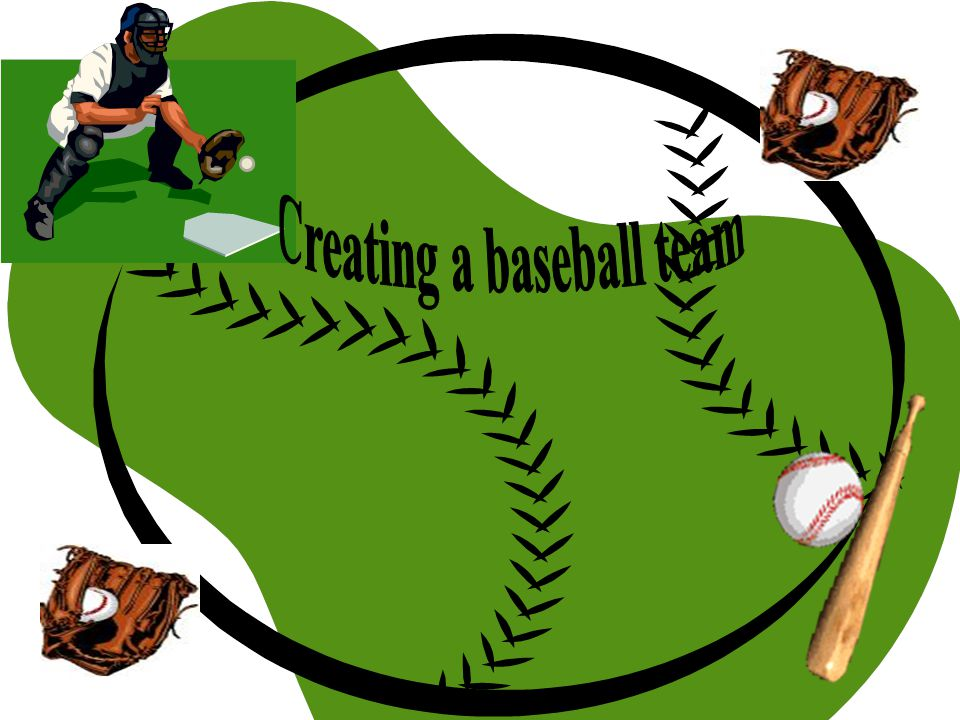 Steps to creating a baseball team Click on Fantasy Baseball Below Free Fantasy Baseball you need to choose: Create a League or Join a League Click on Join a League Click on Join a Public League Create a team name Choose a team logo Select type of scoring either Head to Head or Rotisserie Select level of play either Casual or Competitive