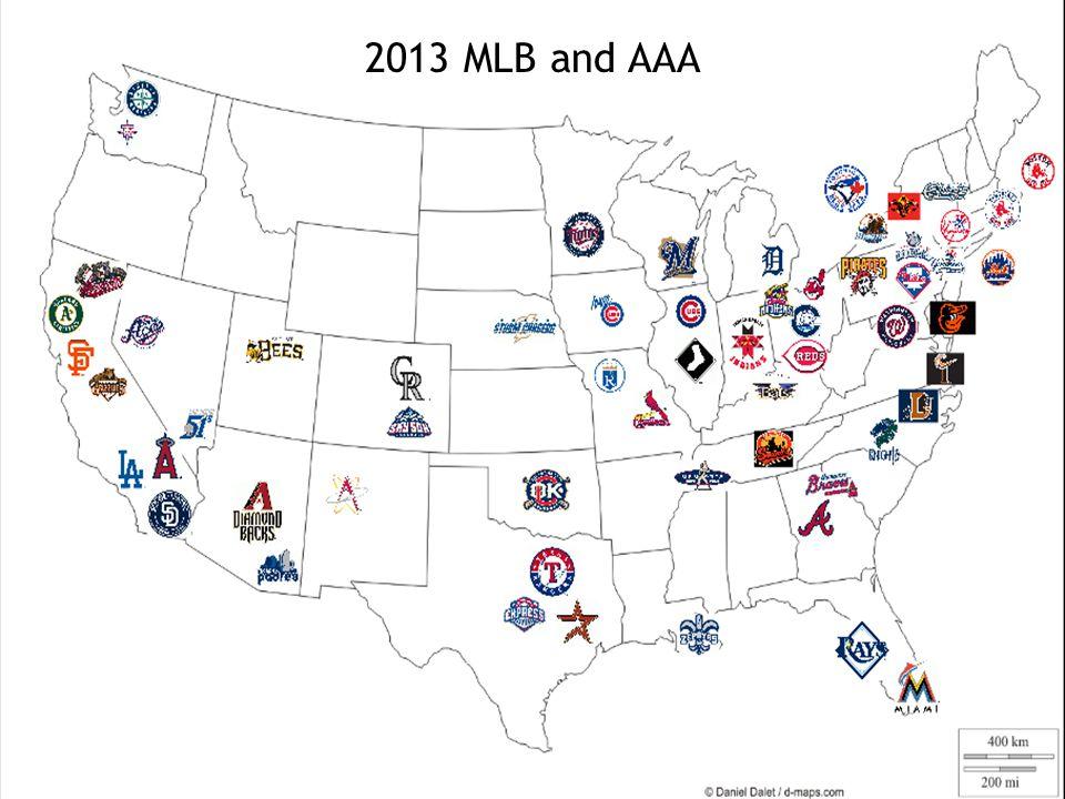 2013 MLB and AAA