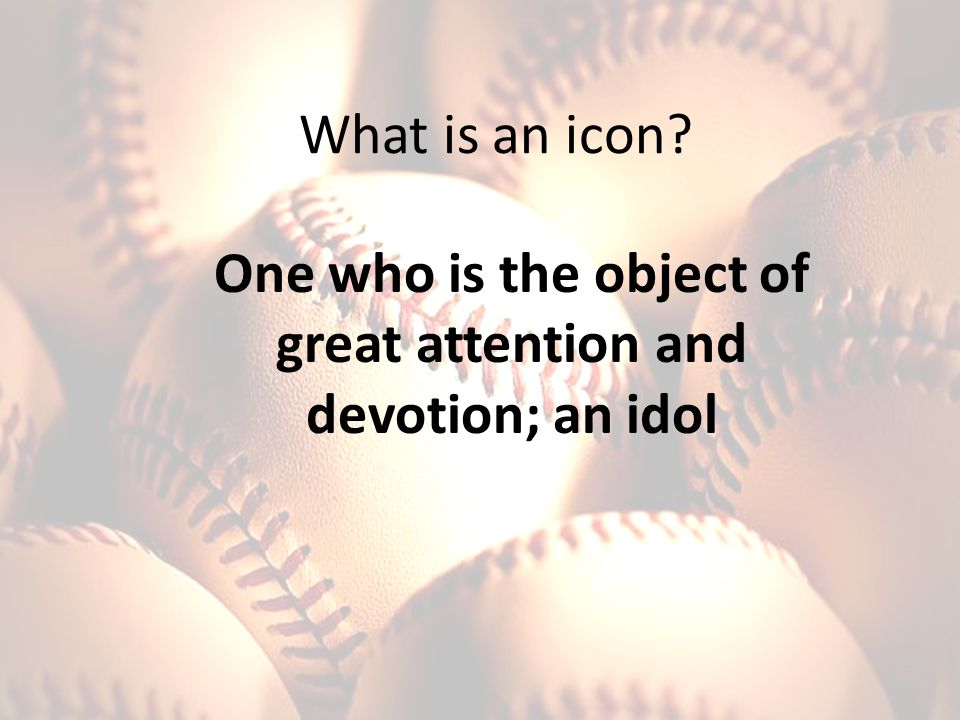 What qualities should an icon have? Was Casey a hero? Is Casey an icon?