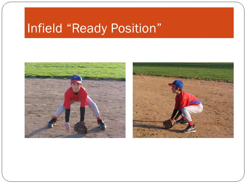"Infield ""Ready Position"""
