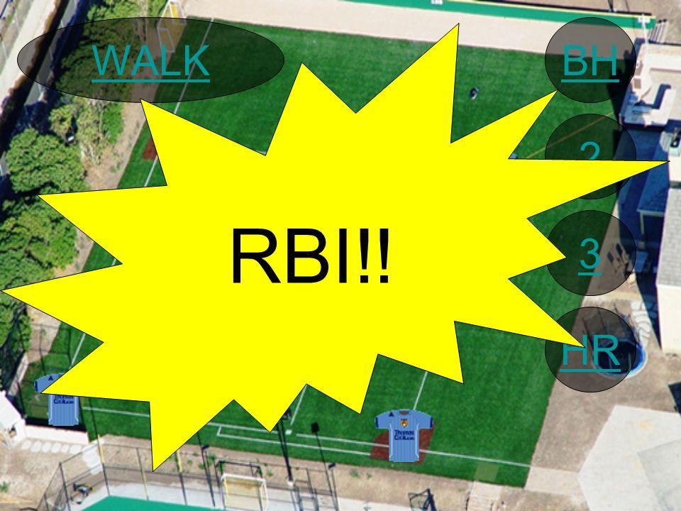 BH 2 3 HR WALK RBI!!