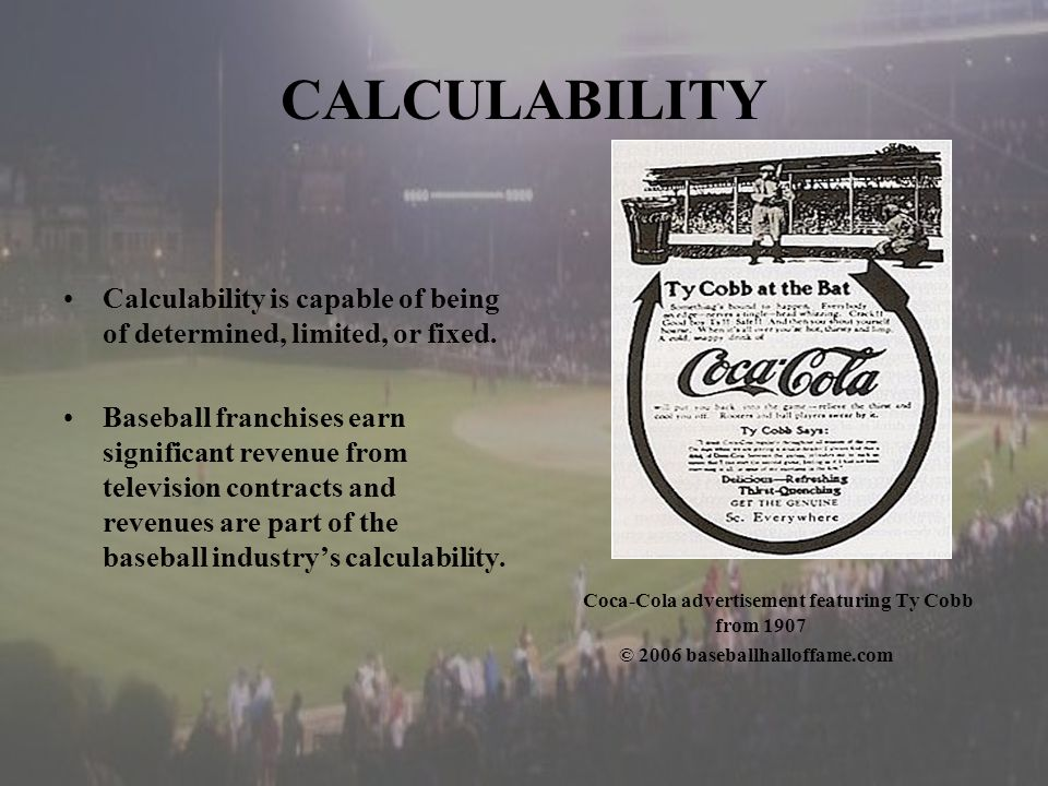 CALCULABILITY Calculability is capable of being of determined, limited, or fixed.