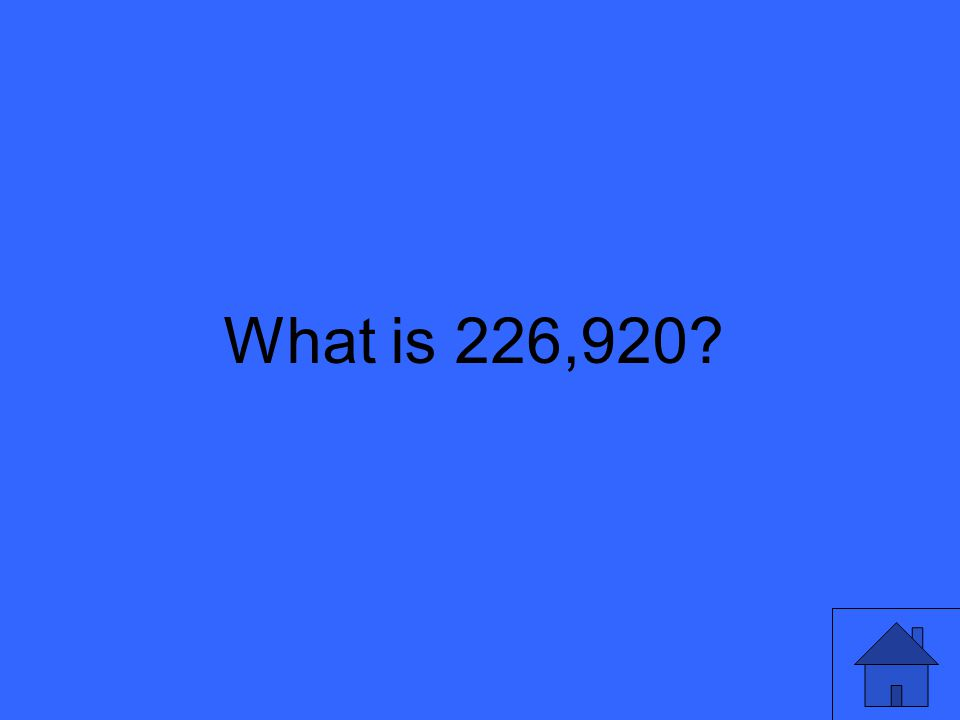 What is 226,920