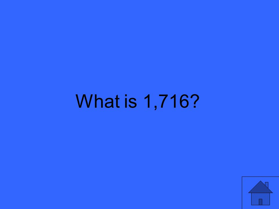 What is 1,716