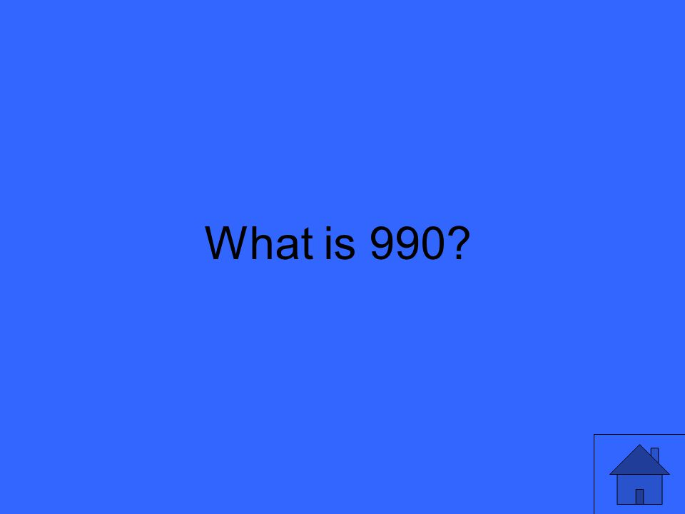 What is 990