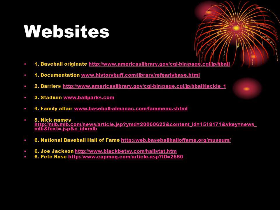 Websites 1.