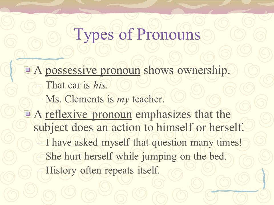 Vague Pronoun Reference Vague pronoun reference occurs when the pronoun could refer to more than one noun OR when the pronoun does not refer clearly to any particular person, place, or thing.