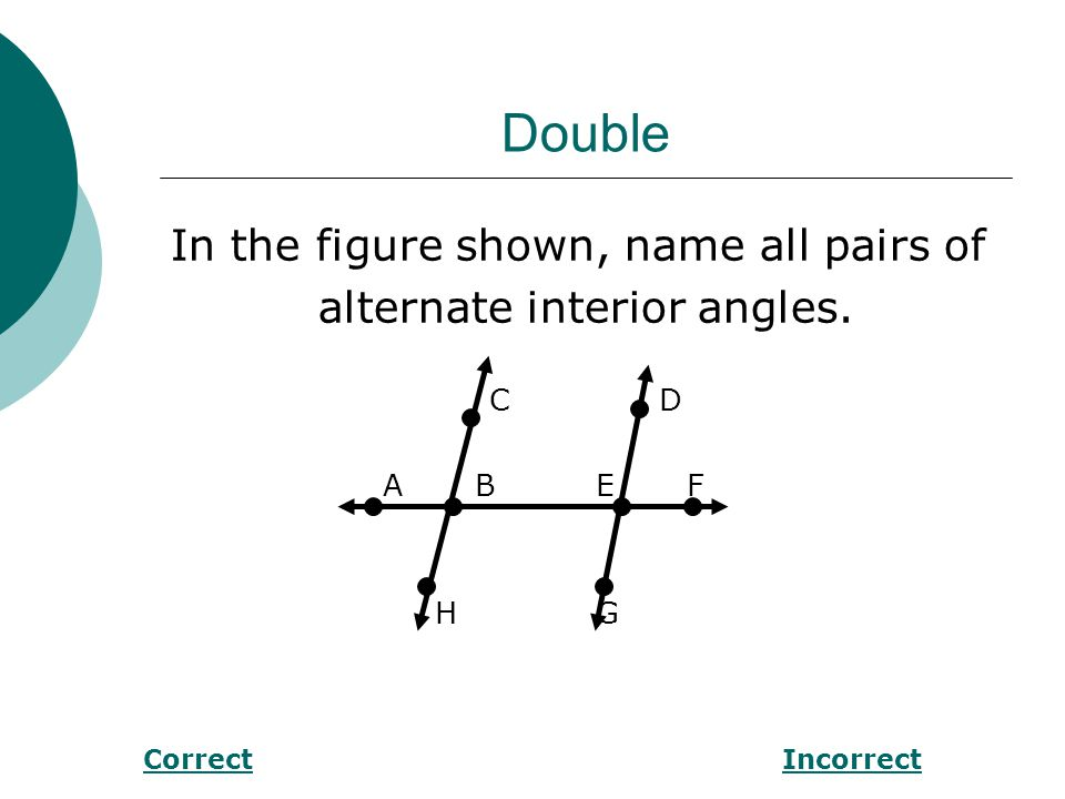 Double Find m<1 in the figure below. PQ ll RS P Q 98° R 1S CorrectIncorrect