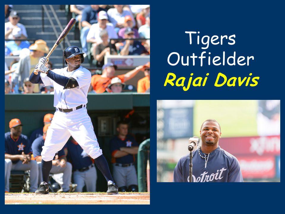 Tigers Outfielder Rajai Davis