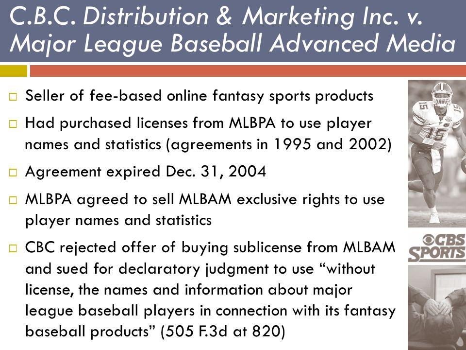 C.B.C. Distribution & Marketing Inc. v.