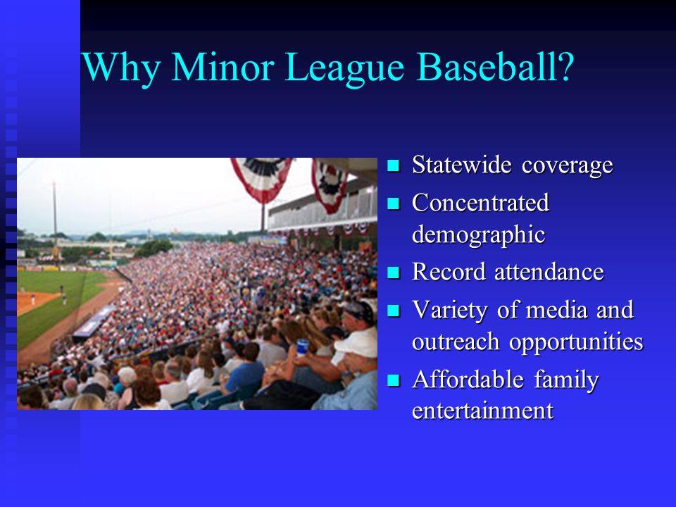 Why Minor League Baseball.