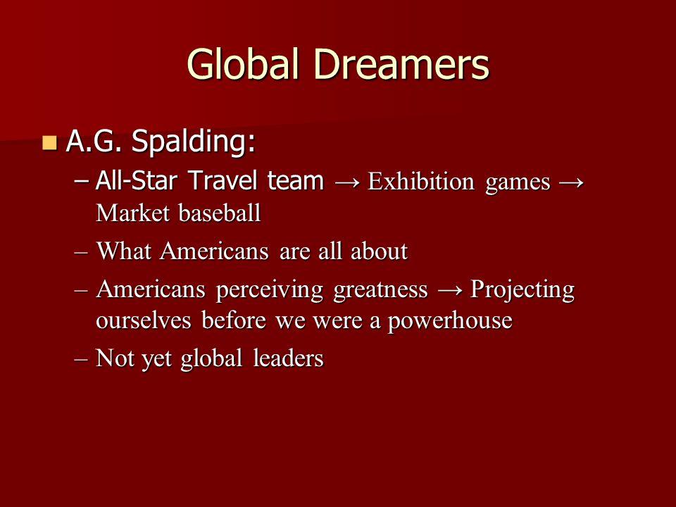 A.G. Spalding: A.G.