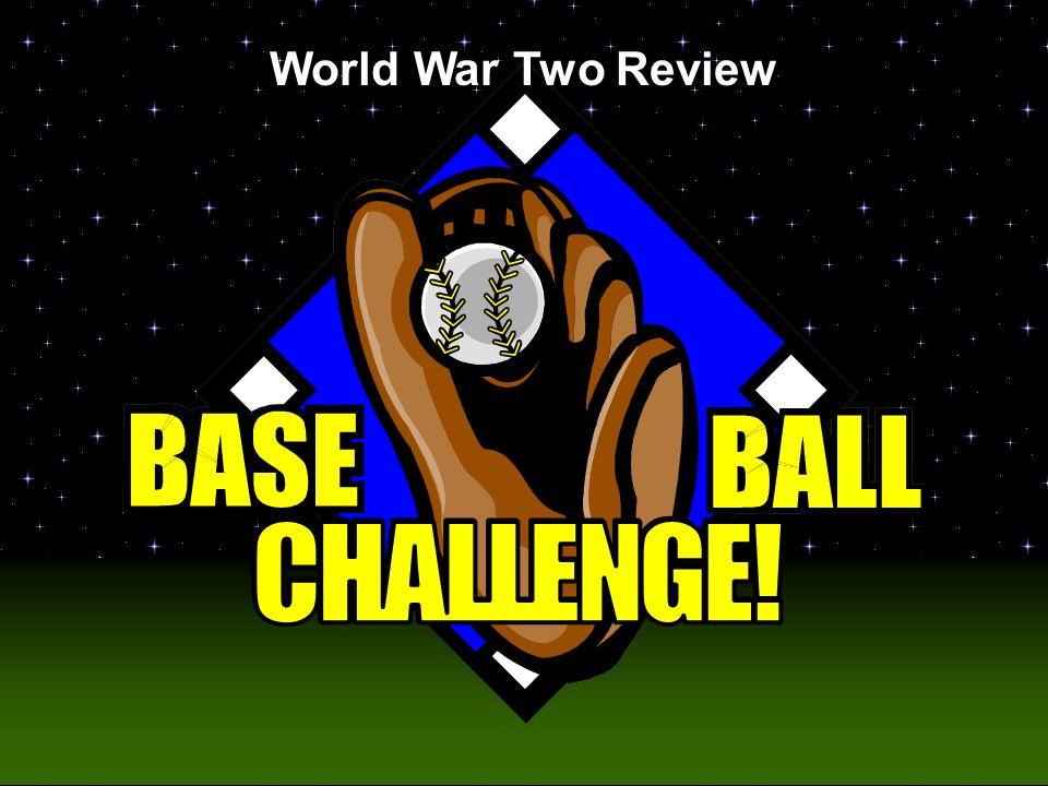 Baseball Challenge! World War Two Review