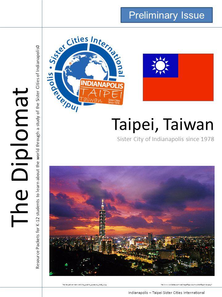Indianapolis – Taipei Sister Cities International Climate JanFebMarAprMay Jun e JulyAug Sep t OctNov De c Max Temp.