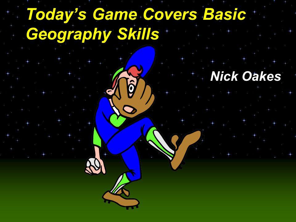 Baseball Challenge! Basic Geography Skills