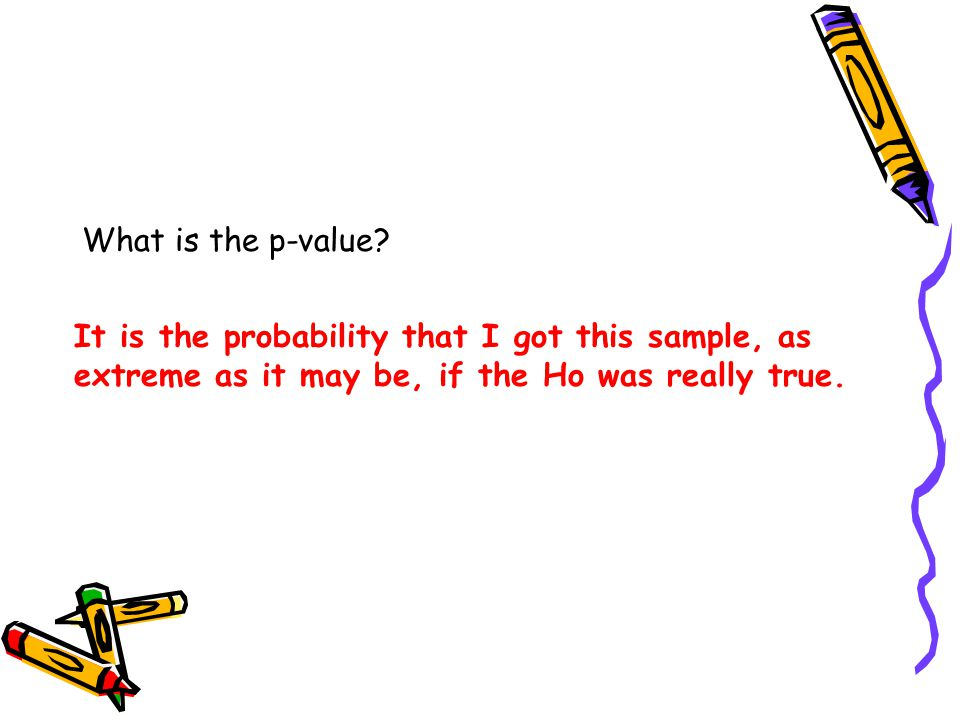 What is the p-value.