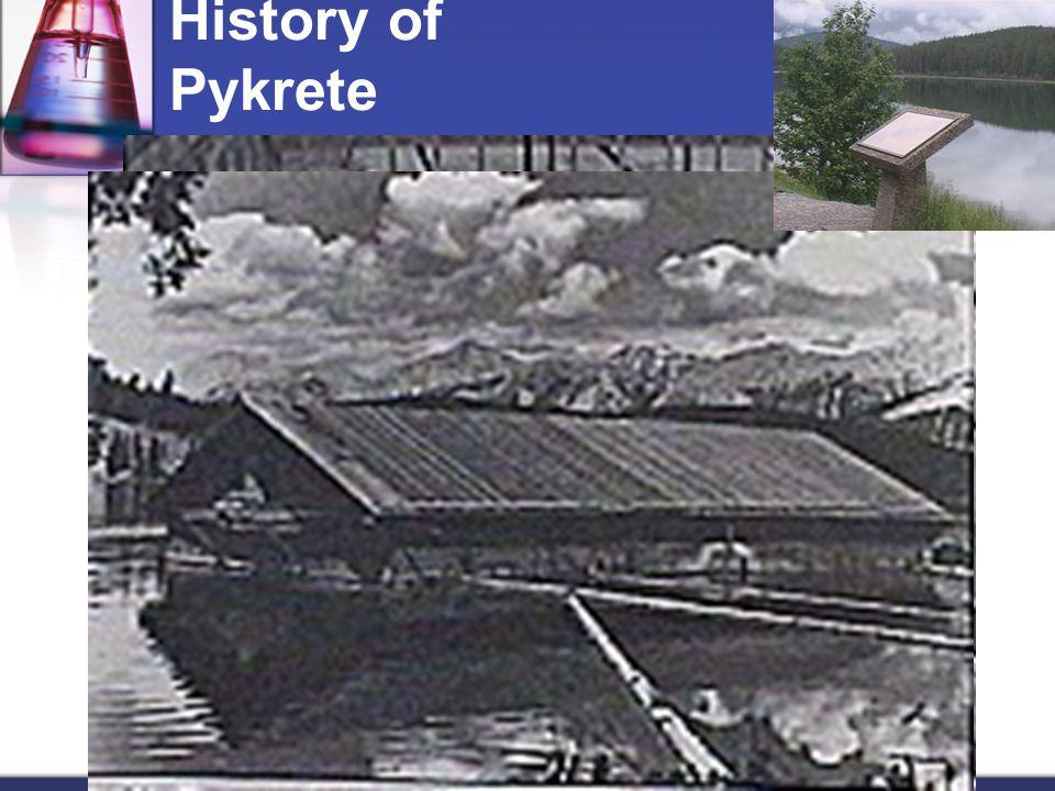 History of Pykrete