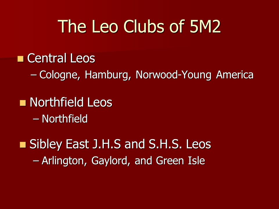 It's Time to Meet the 5M2 Leos!!!