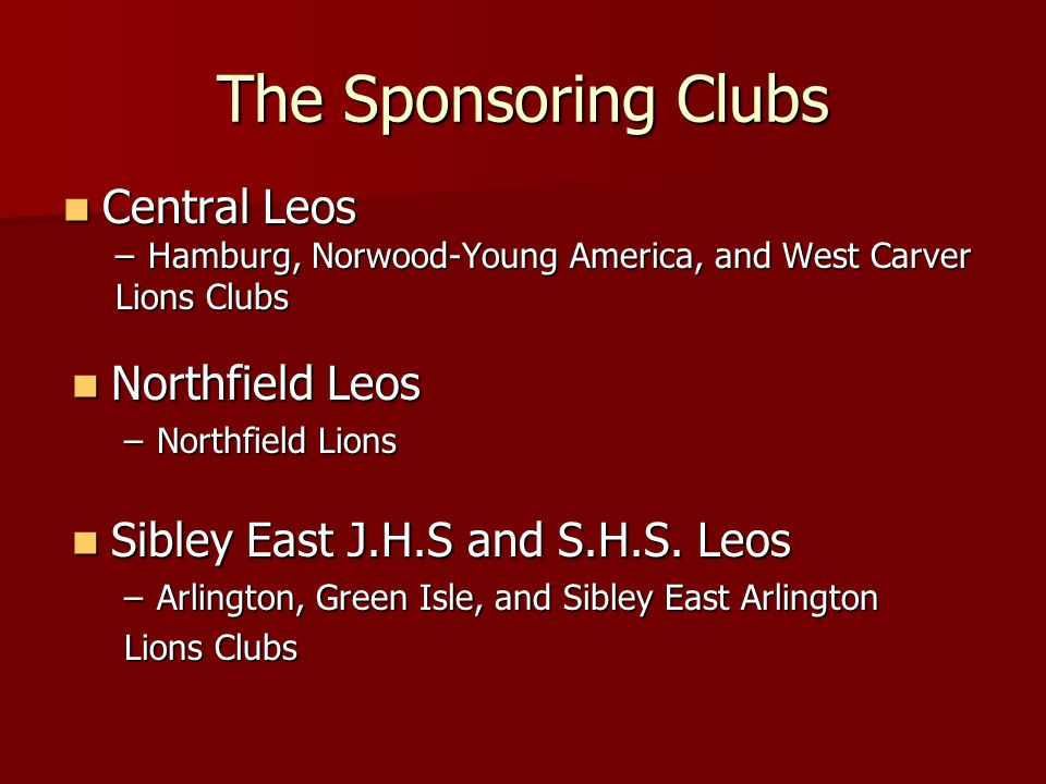 Leo Clubs of 5M2
