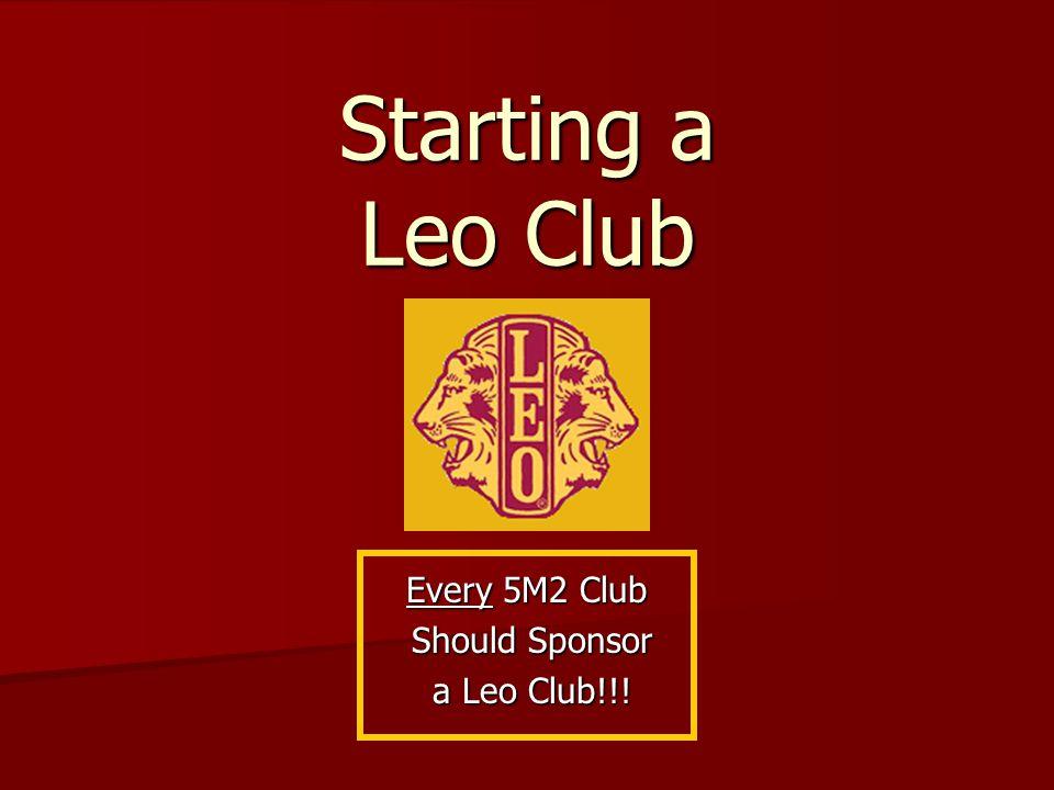 Starting a Leo Club