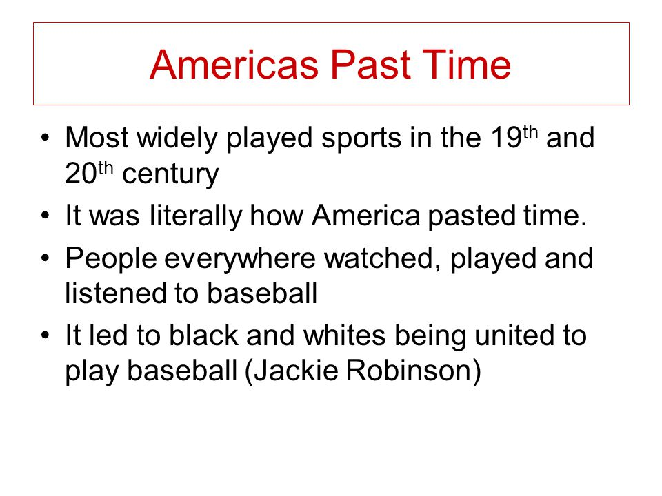 Baseballs and Others The baseball led to many other inventions like the baseball bat, the glove, the base…ect.