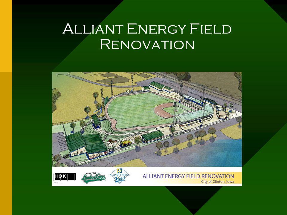 Alliant Energy Field Renovation