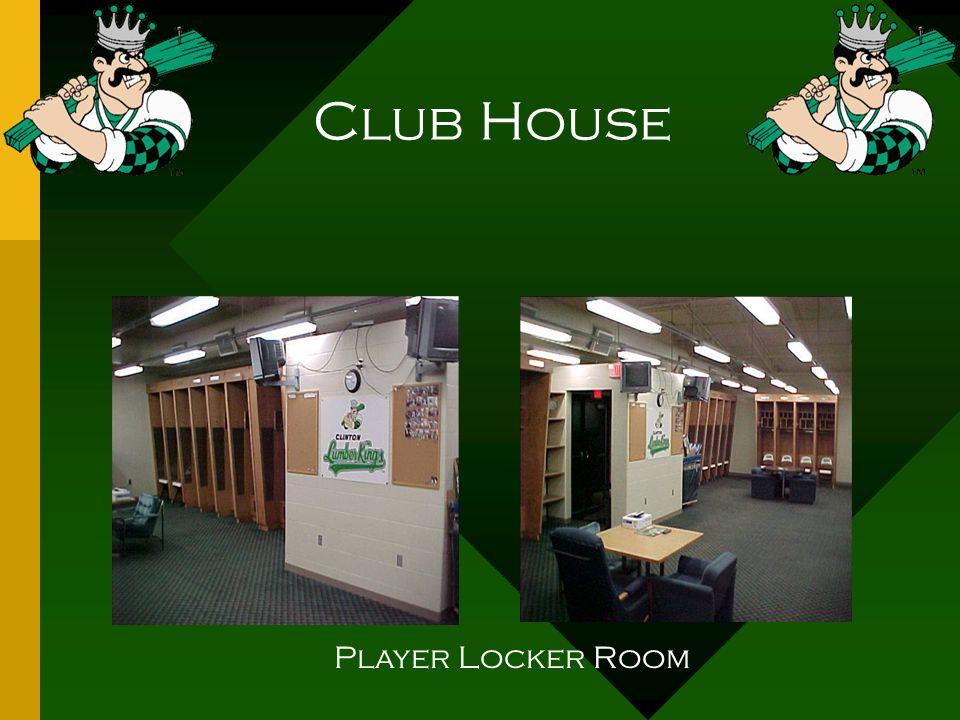 Club House Player Locker Room