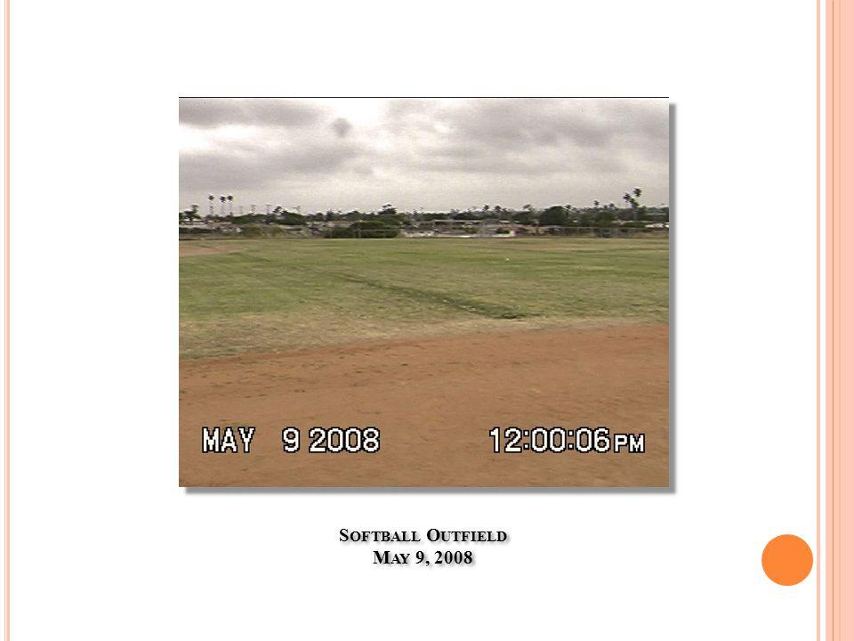 S OFTBALL O UTFIELD M AY 9, 2008