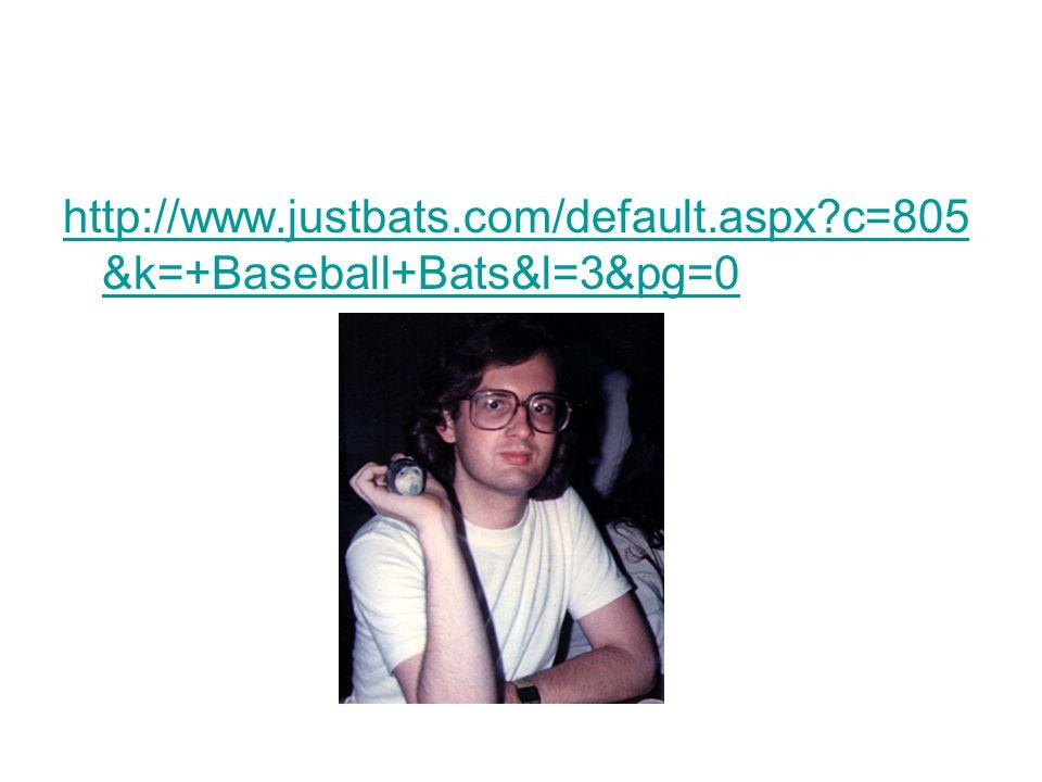 http://www.justbats.com/default.aspx c=805 &k=+Baseball+Bats&l=3&pg=0