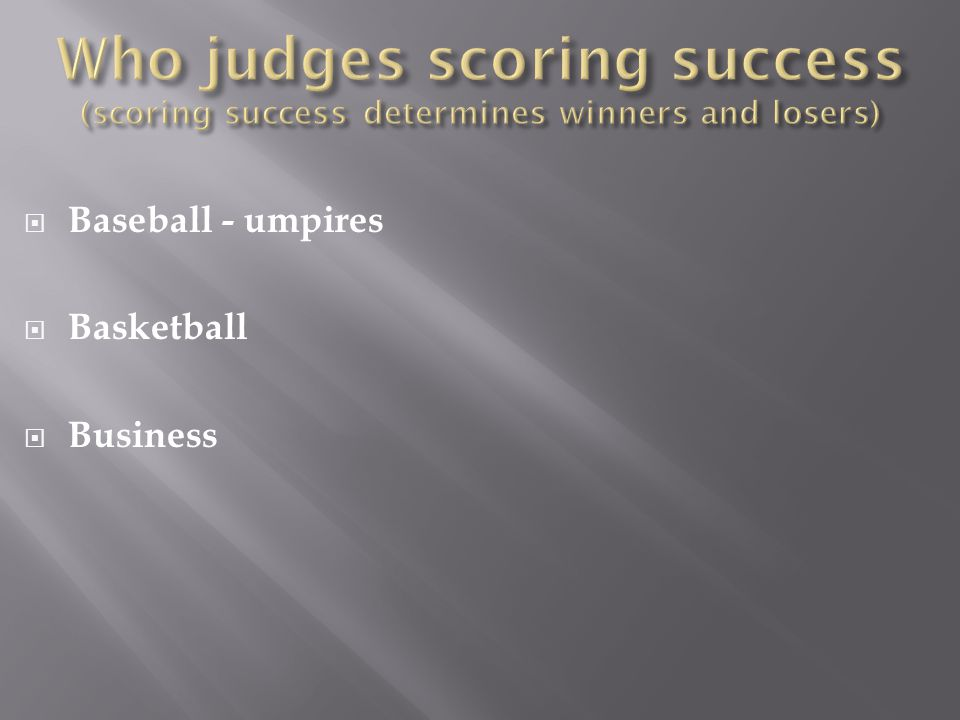  Baseball - umpires  Basketball  Business