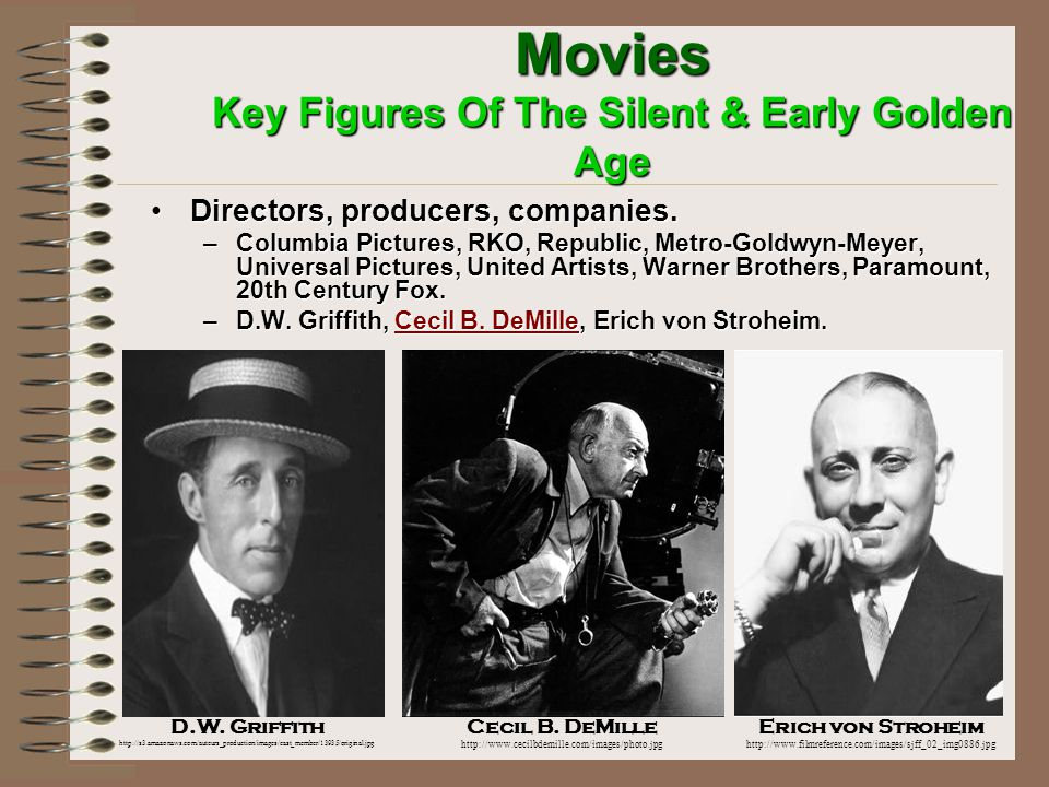 Movies Key Figures Of The Silent & Early Golden Age Animator.Animator.