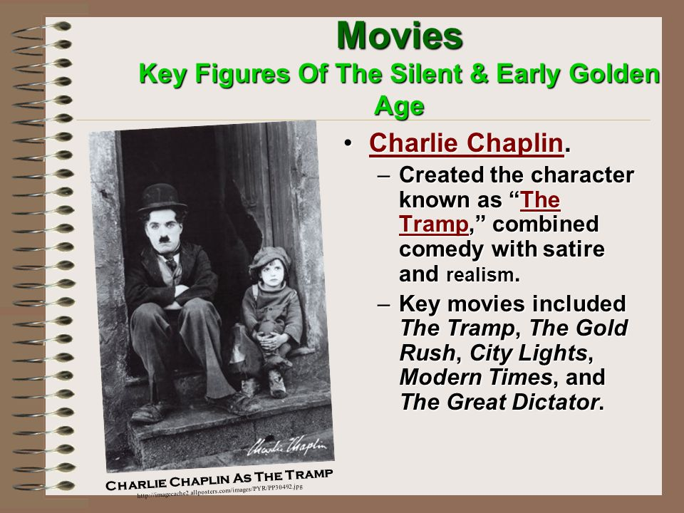 Movies Key Figures Of The Silent & Early Golden Age Directors, producers, companies.Directors, producers, companies.