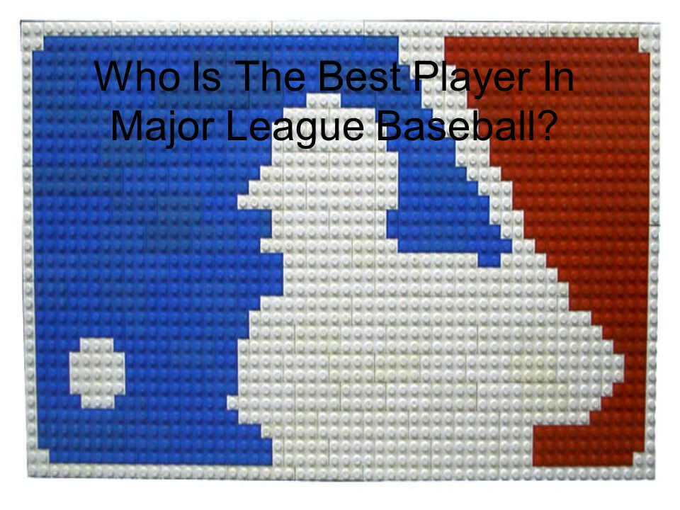 Who Is The Best Player In Major League Baseball