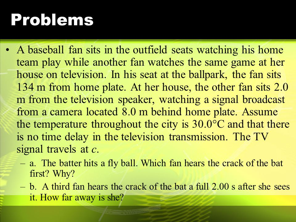 Problems A radio station broadcasts their signal with a wavelength of 3.5 µm. Although your radio will translate this signal into audible sound, expla