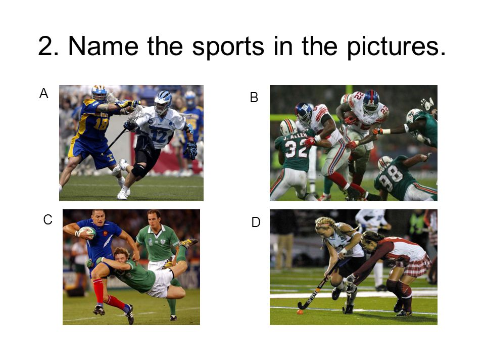 12.Match the leagues with the sports.