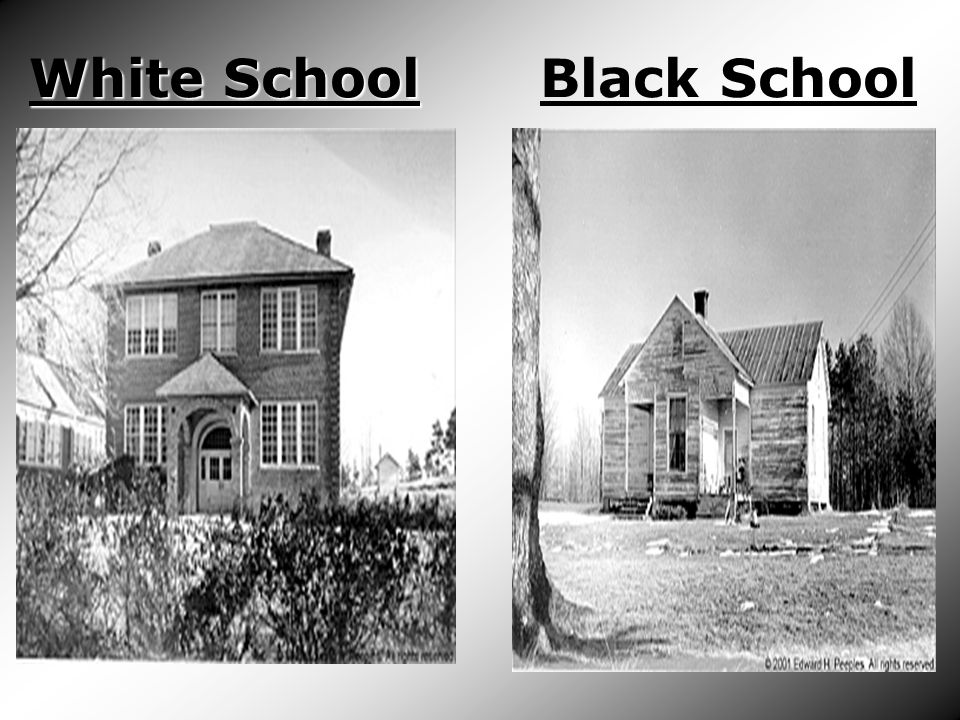 White School Black School