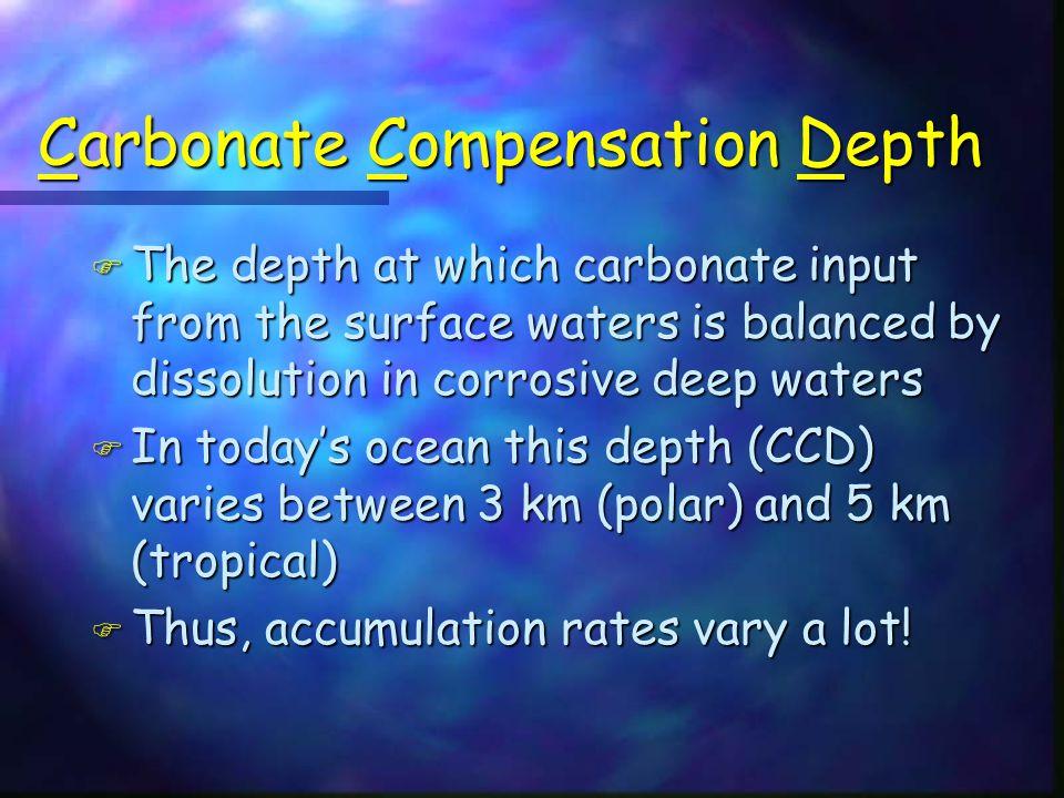 Carbonate Compensation Depth