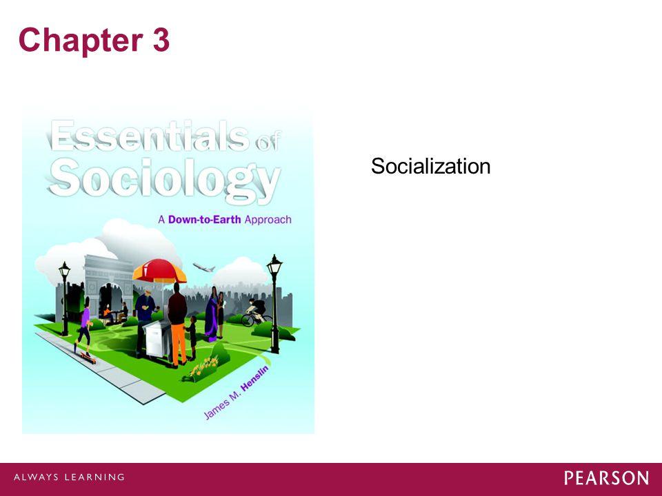 Chapter 3 Socialization