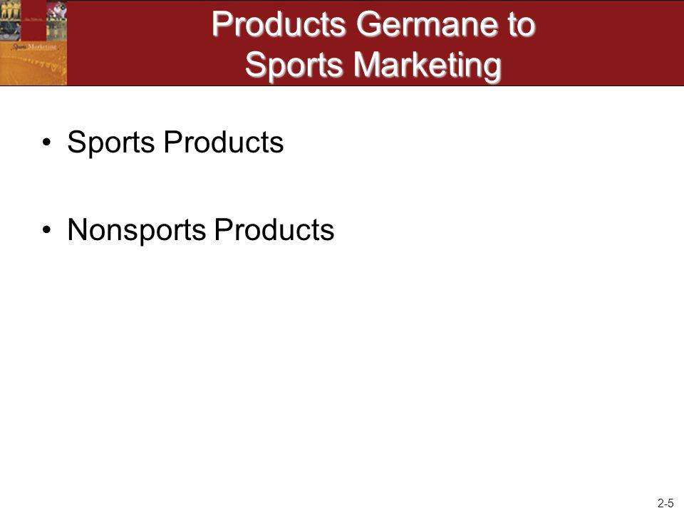 2-6 Sports Product - Category 1 Spectator Sports (i.e.